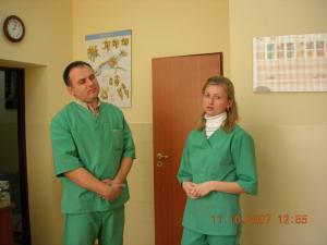 Gabinet na Żeromskiego 8 - Zespół lekarzy.